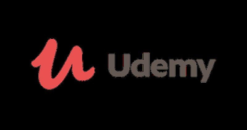 Udemy logo for an online learning platform.