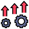 Business Process Improvement showing increased operational efficiency.